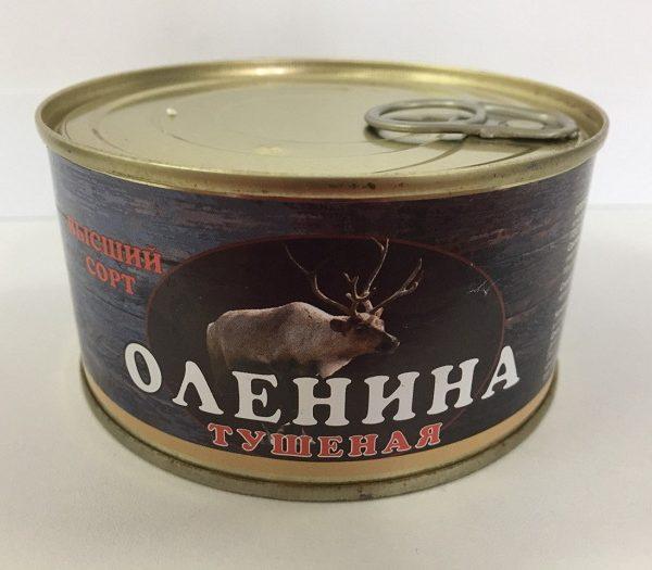 Тушенка из оленины (325 гр)
